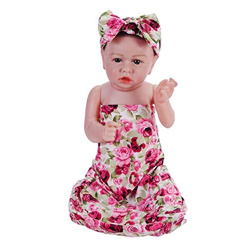 HUANLIAN Lebensechte 22 cm 58 cm Reborn Baby Mädchen Puppen Weiche Vinyl Silikon Handgemachte Babys Sieht Echte Kleinkinder Mädchen Spielzeug Geschenke Aus