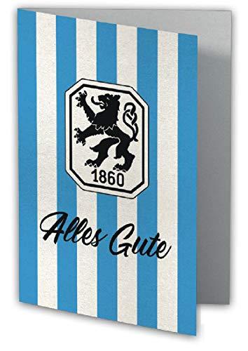 TSV 1860 Glückwunschkarte für Geburtstag und andere Anlässe