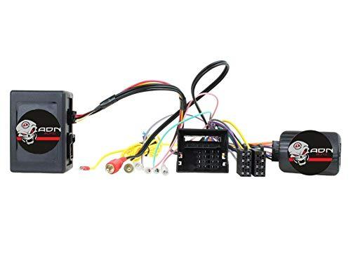 Interface Commande au volant BM12J compatible avec BMW Ap04 Avec ampli JVC