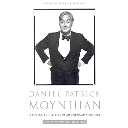 Daniel Patrick Moynihan audiobook cover art
