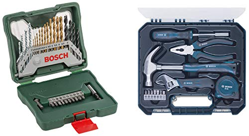 Bosch Hand Tool Kit (Blue, 12 Pieces)