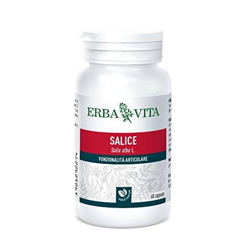 Erba Vita Integratore Alimentare di Salice - 60 Capsule