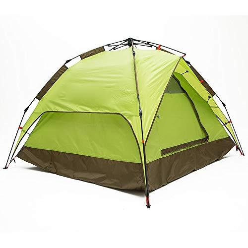 Jian E - (tent) Outdoor Driepersoons Paraplu Frame Structuur Automatische Snelle Opening Gratis Bouwen Tent Camping 200x180x115cm