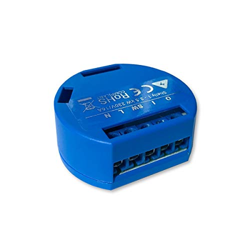 SHELLY 1 One Relay Switch Wireless WiFi Home Automation iOS Android Application 1 Pack