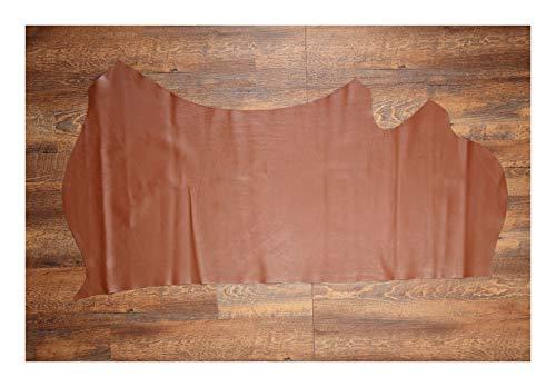 Herzog-Leather Piel de becerro, 1,3 – 1,7 m², curtido con cromo, ortopédico...