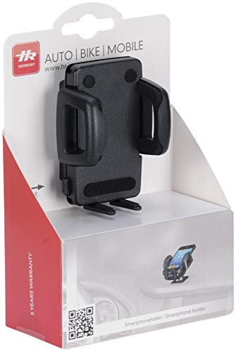 hr-imotion Universal Armaturenbrett Halterung für Smartphones (z.B Apple iPhone 11/11 Pro/Xs/Xs Max/XR, Samsung Galaxy Serie,LG, OnePlus uvm.) [Made in Germany, 360° drehbar, vibrationsfrei] 22410001
