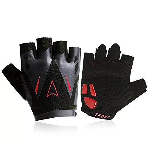 LIL Riding Gloves Short Finger Fitness Men and Women Mountain Bikes Half Finger Outdoor Breathable Sports Spring and Summer Equipment