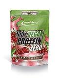 IronMaxx Vegan Protein Zero Cherry Joghurt - Veganes Proteinpulver aus hochwertigen, pflanzlichen...