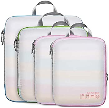 Compression Travel F-color Expandable Packing Cubes