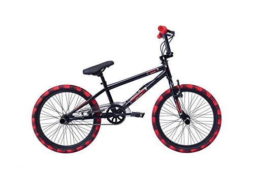 Descheemaeker - Bicicletta da bambino Rock 20', colore: Nero