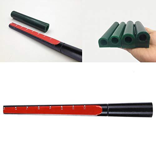 IDWT Medidor de Anillo de Tubo de Cera, tamaño fácil para Hacer Joyas, palillo Liso para Trabajadores de reparación de Joyas para joyería