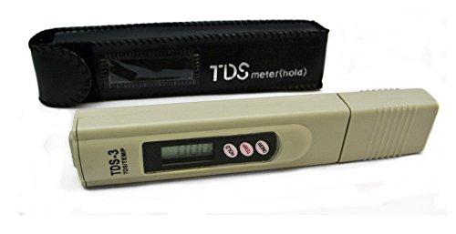Ez - Misuratore Tds Digitale Per Testare La Qualità Dell Acqua, Tds-3, Colore: Beige