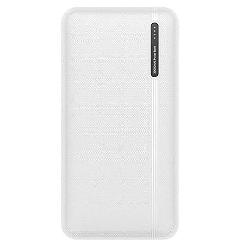 SPARKX Power Bank 20000Mah, LED Light Display Battery Pack, Dual USB Output Micro/TYPE-C Input, Suitable for Android, Apple, Tablet Computers, Etc,B