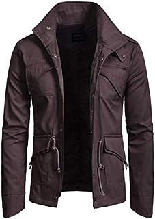 Norfolk Jacket For Men - Dark Brown