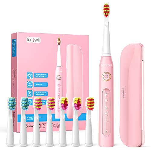 Cepillo de dientes eléctricos, 4 Horas de Recarga la Duración es de...