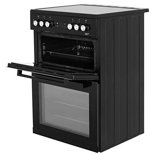 Beko KDC653K 60cm Electric Cooker with Ceramic Hob - Black