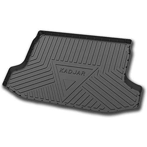 Voiture Caoutchouc TPO Tapis de coffre, pour Renault KADJAR 2016-2020 Imperméable Antidérapant De Coffre Arrière Accessoires De Protection