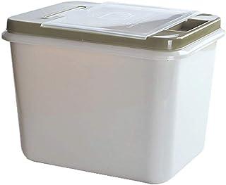 SMEJS Riz Container, Organisation du Riz Alimentaire Boîte de Rangement Cuisine avec Mesureur Box Suspendu (Color : A)