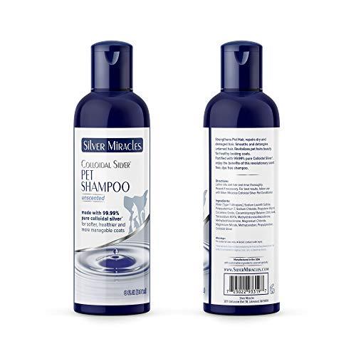 Silver Miracles Colloidal Silver Pet Shampoo