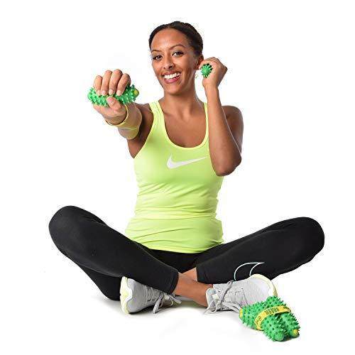 6x TOGU Brasil® 3 Paar grün Handtrainer Widerstandstraining Workout