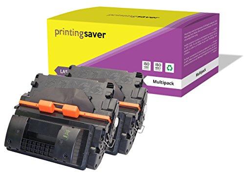 2X Printing Saver SCHWARZ Toner kompatibel für HP Laserjet P4015, P4015n, P4015dn, P4015tn, P4015x, P4515, P4515n, P4515tn, P4515x, P4515xm drucker