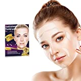 16 Pieces Face Wrinkle Patches, Reusable Anti Wrinkle Pads for Face, Reducing and Smoothing Wrinkles Around Forehead, Eye, Mouth & Upper Lip