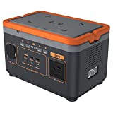 300W Portable Power Station Solar Generator (Solar Panel Not Included) 333Wh 90000mAh with Emergency Lamp for Multiple Devices Charging Outdoor Camping Travel Home Use