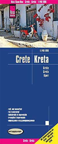 Reise Know-How Landkarte Kreta / Crete (1:140.000): reiß- und wasserfest (world mapping project)