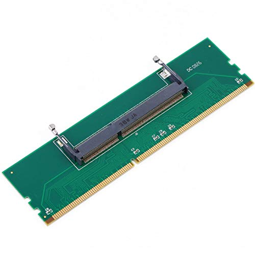 Zinniaya Professional DDR3 Laptop SO-DIMM auf Desktop DIMM Memory RAM Connector Desktop Adapter Karte Memory Tester grün