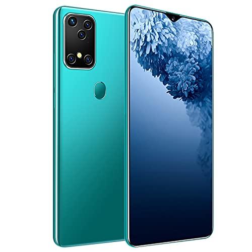 GAOword Smartphone Barato, Pantalla de 7,0 Pulgadas, ROM 32GB, cámara de 16MP + 32MP, reconocimiento de Cara de Doble Tarjeta, desbloqueo de Huellas Dactilares,Verde