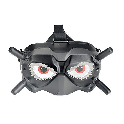 Yingwang - Set di 4 adesivi per occhiali DJI FPV V2