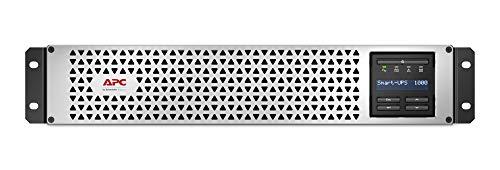 APC Smart-UPS 1000VA Lithium Ion UPS with SmartConnect, SMTL1000RM2UC, Pure Sine Wave, Short-Depth 120V Uninterruptible Power Supply
