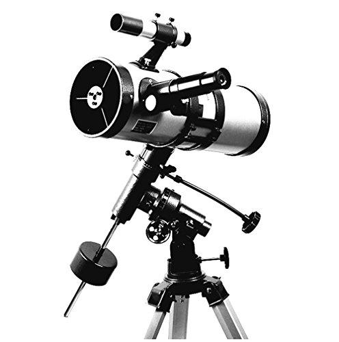 WSHA Telescopio Telescopio Astronómico Telescopio Ecuatorial Telescopio Reflector para Observar Estrella/Luna / Saturno/Júpiter
