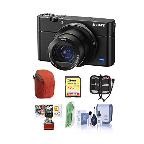 Sony Cyber-Shot DSC-RX100 VA Digital Camera, Black...