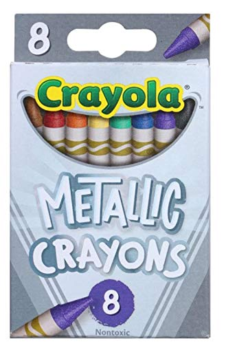 Crayola Metallic Crayons 8 Count