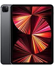 2021 Apple iPad Pro (11-tums, med Wi‑Fi + Cellular, 128GB) - rymdgrå (tredje generationen)