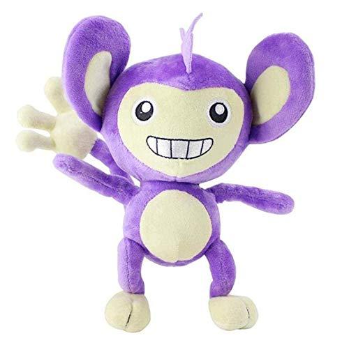 26cm lange staart monster pluche pop cartoon anime paarse aap pluche knuffel woondecoratie kussen sleutelhanger hanger