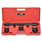 EWK 1/2 inch 3 Adapter Inner Tie Rod Removal Tool Kit for GM Ford Chrysler Steering