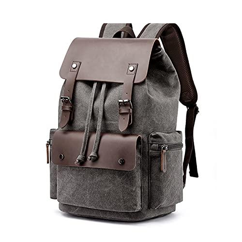 Bolsa de Mochila de Mochila con cordón de Gran Capacidad. (Color : Black, tamaño : 17.5x12.9x7 Inch)