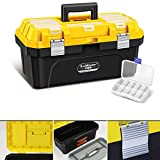 Caballetes de Dibujo Caja de herramientas de hardware Caja de almacenamiento caja de herramientas portátil de casa del coche del arte de múltiples funciones de la caja de la herramienta del arte Profe