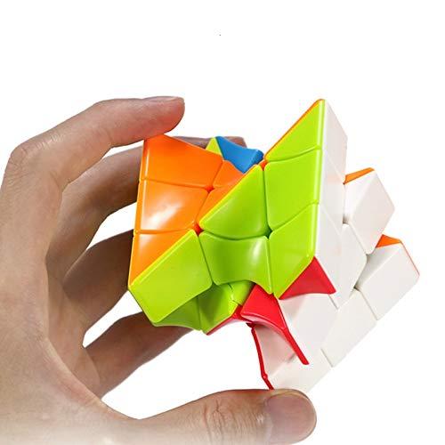 JIAMIN Cubo mágico de Rubik's Cube Neo Torsion Cubo trenzado de Coloful...