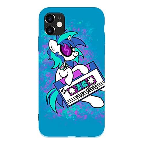 DJ pon3 Nero Custodie per Telefoni iPhone 12/11 Pro Max 12 mini SE X/XS Max XR 8 7 6 6s Plus Custodie