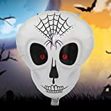 Numero di pezzi: 7 pezzi Categorie di prodotti: palloncino specifiche: 55x50cm Occasione: Halloween forma: palloncino teschio