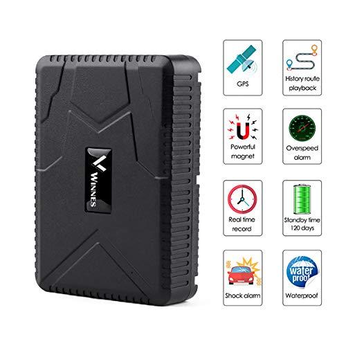 GPS Tracker Echtzeit Tracking Langlebige Batterie Standby 120 Tage Auto GPS Tracker Fahrzeug Tracker TK915 Wasserdichter Starker Magnet Motorrad GPS Locator Free Web APP