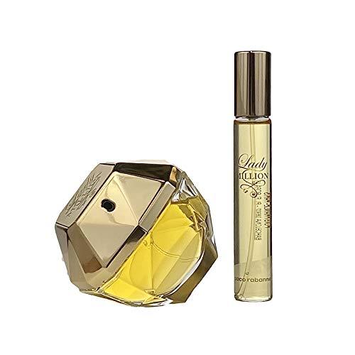 Paco Rabanne Lady Million Set (Eau de Parfum,80ml+20ml), 200 g, 1