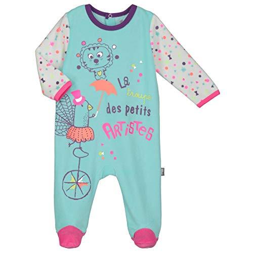 Pyjama bébé velours Petite Troupe - Taille - 24 mois (92 cm)