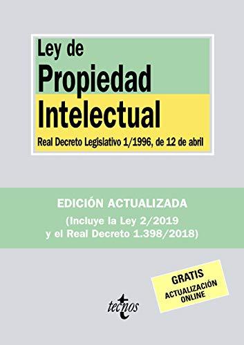 Ley de Propiedad Intelectual: Real Decreto Legislativo 1/1996, de 12 de abril (Derecho - Biblioteca de Textos Legales)