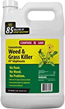 Compare-N-Save 016869 Concentrate Grass and Weed Killer, 41-Percent Glyphosate, 1-Gallon , White