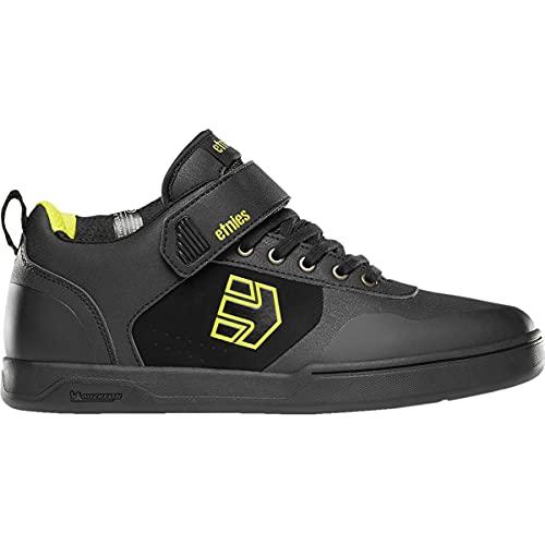 Etnies Men's Culvert Mid Skate Shoe, Black/Lime, 6 UK
