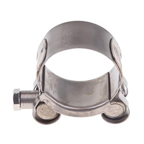 perfeclan 1 Stück Auspuffschelle Abgasrohrleitungen Schalldämpfer 40-43 mm; 44-47 mm; 48-51 mm; 52-55mm - 32-35mm